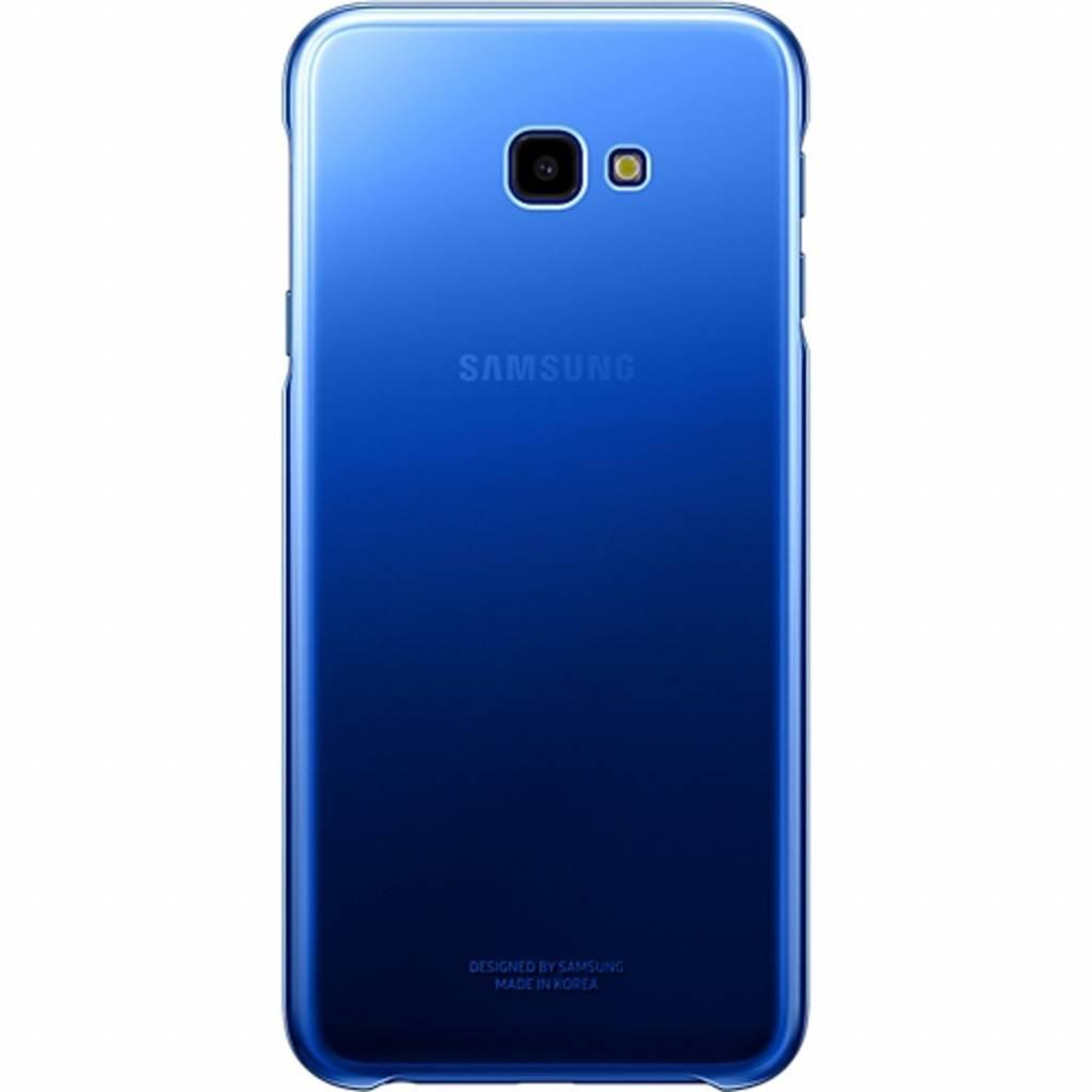 Samsung Gradation Backcover voor Samsung Galaxy J4 Plus - Blauw