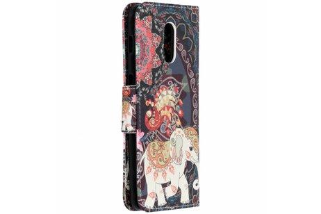 OnePlus 6T hoesje - Design Softcase Booktype voor