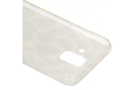 Metallic Softcase Backcover voor Samsung Galaxy A6 (2018)