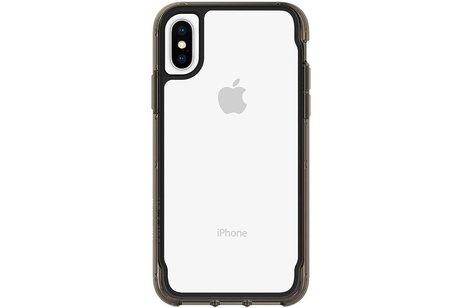 Griffin Survivor Clear Backcover voor iPhone X / Xs - Zwart