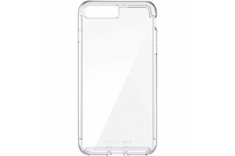 Tech21 Pure Clear Backcover voor iPhone 8 Plus / 7 Plus - Transparant