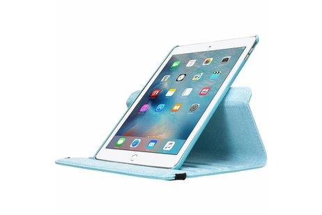 360° Draaibare Bookcase voor iPad Air 2 - Lichtblauw