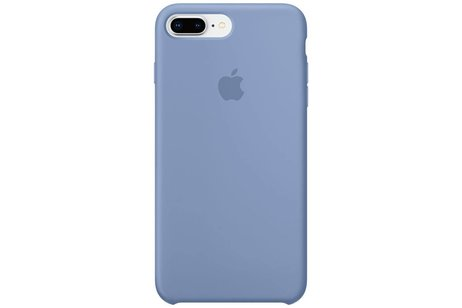 Apple Silicone Backcover voor iPhone 8 Plus / 7 Plus - Lichtblauw