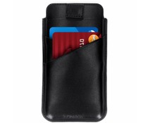 Valenta Zwart Pocket Premium iPhone Xs Max