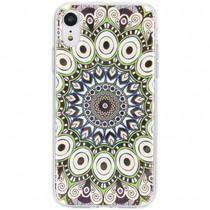 Metallic design siliconen hoesje iPhone Xr