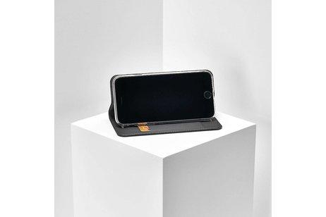 Dux Ducis Slim Softcase Booktype voor iPhone SE / 5 / 5s - Grijs