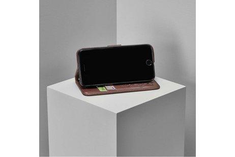Nokia 7.1 hoesje - Klavertje Bloemen Booktype voor