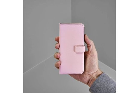 Selencia Luxe Softcase Booktype voor Samsung Galaxy Note 8 - Lichtroze