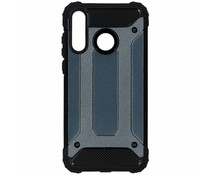 Donkerblauw Rugged Xtreme Case Huawei P30 Lite