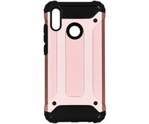Rosé Goud Rugged Xtreme Case Huawei P Smart (2019)