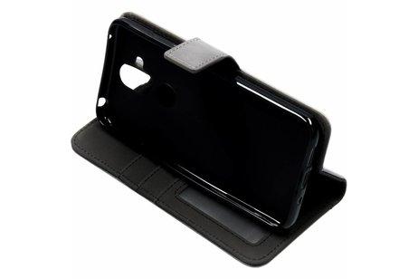 Nokia 8.1 hoesje - Luxe Lederen Booktype voor