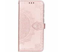 Roze mandala booktype hoes Nokia 5.1 Plus