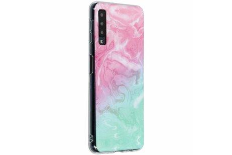Samsung Galaxy A7 (2018) hoesje - Design Backcover voor Samsung