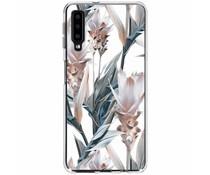 Delicate design siliconen hoesje Samsung Galaxy A7 (2018)