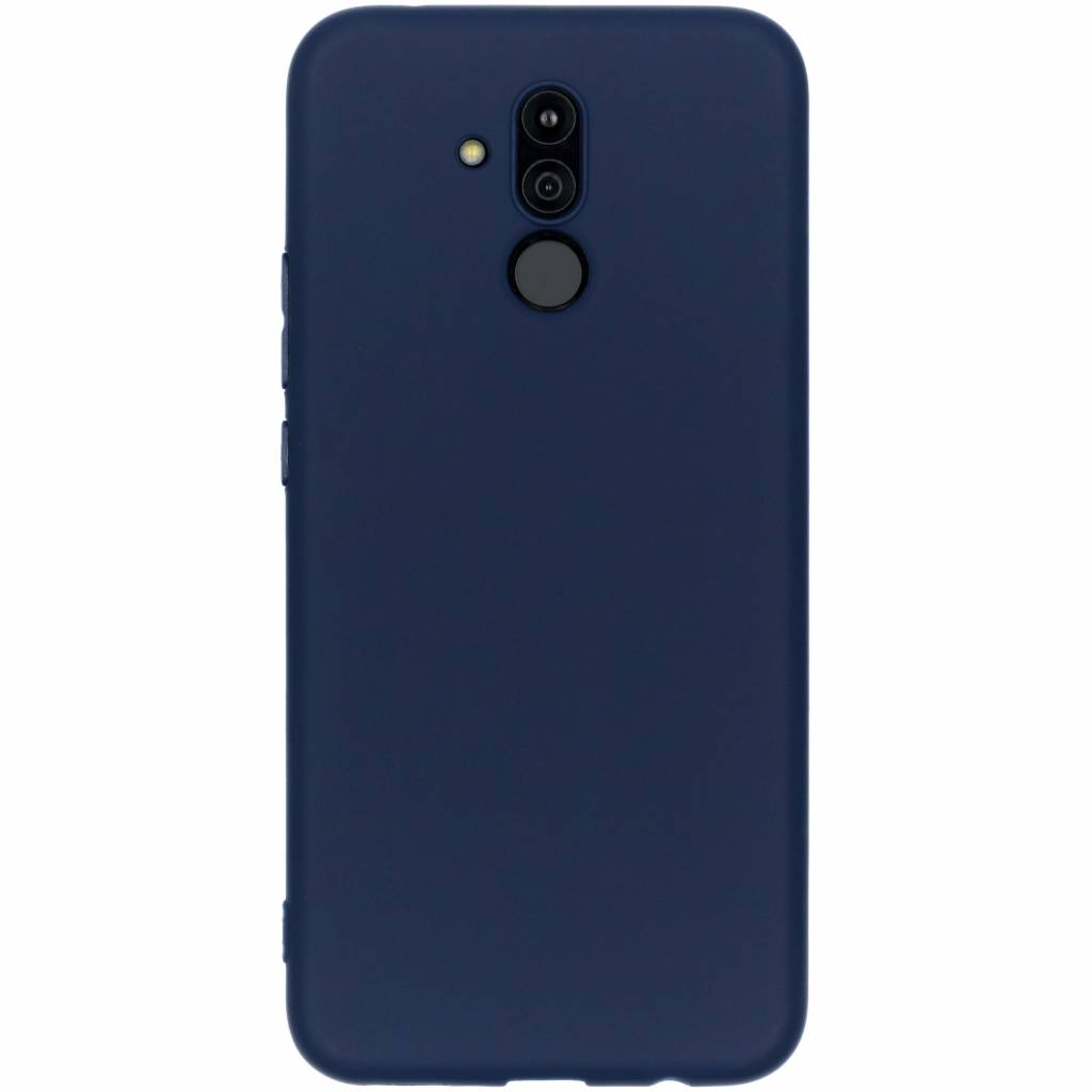 Color Backcover voor Huawei Mate 20 Lite - Blauw