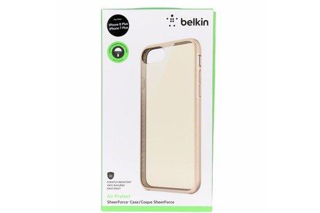 Belkin Air Protect SheerForce Backcover voor iPhone 8 Plus / 7 Plus - Goud