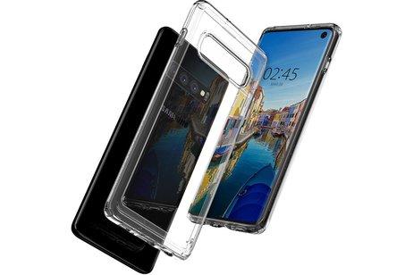 Samsung Galaxy S10 hoesje - Spigen Ultra Hybrid Backcover