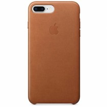 Apple Leather Backcover iPhone 8 Plus / 7 Plus - Saddle Brown