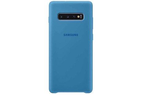Samsung Galaxy S10 Plus hoesje - Samsung Silicone Backcover voor