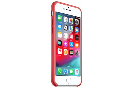 Apple Silicone Backcover voor iPhone 8 / 7 - Roze