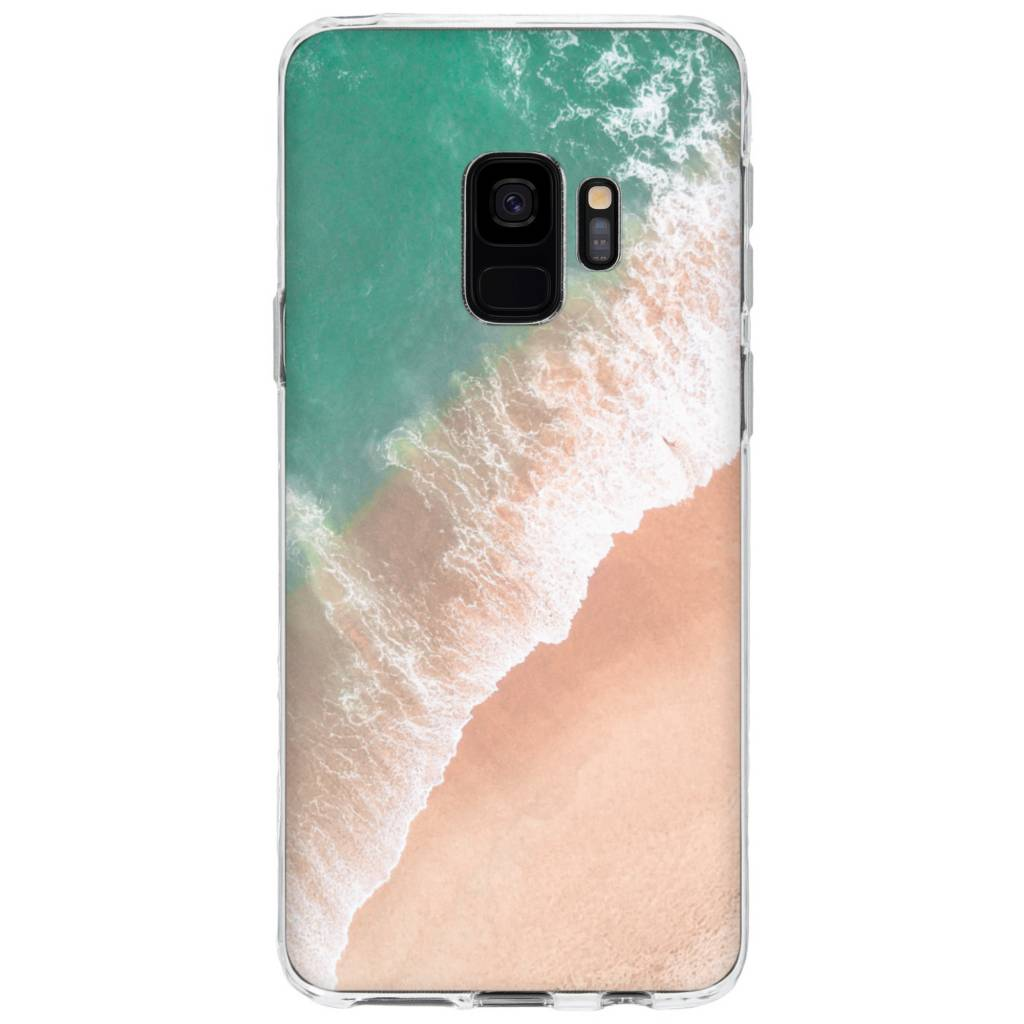 Design Backcover voor Samsung Galaxy S9 - Beach Design
