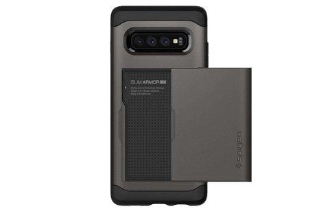 Samsung Galaxy S10 hoesje - Spigen Slim Armor CS
