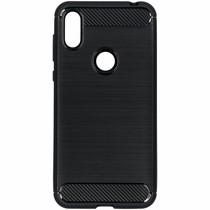 Brushed Backcover Motorola One - Zwart