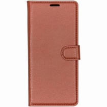 Basic Litchi Booktype Sony Xperia 1 - Bruin
