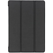 Stijlvolle Bookcase Lenovo Tab E10 - Zwart