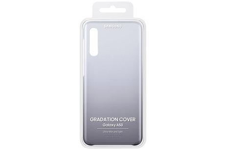 Samsung Gradation Backcover voor de Galaxy A50 / A30s - Donkerpaars