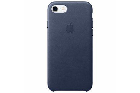 Apple Leather Backcover voor de iPhone 8 / 7 - Donkerblauw