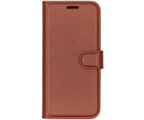Basic Litchi Booktype Motorola Moto G7 Play - Bruin