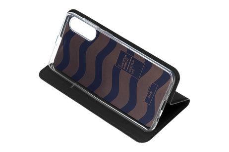Dux Ducis Slim Softcase Booktype voor de Samsung Galaxy A50 / A30s - Zwart