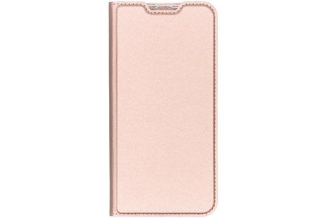 Dux Ducis Slim Softcase Booktype voor de Samsung Galaxy A50 / A30s - Rosé Goud