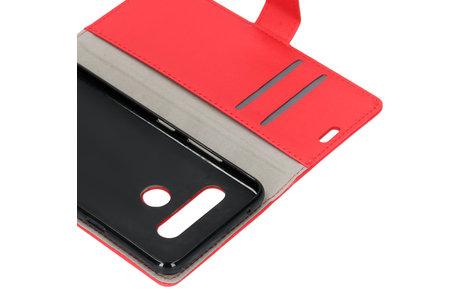 LG V40 ThinQ hoesje - Zakelijke Softcase Booktype voor