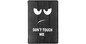 Design Hardcase Bookcase Lenovo Tab M10 - Don't touch