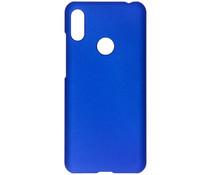 Effen Backcover Huawei Y6 (2019) - Blauw