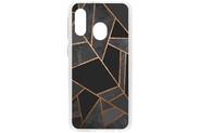 Design Backcover voor de Samsung Galaxy A40 - Grafisch Zwart / Koper