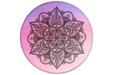 PopSockets Charcoal Mandala