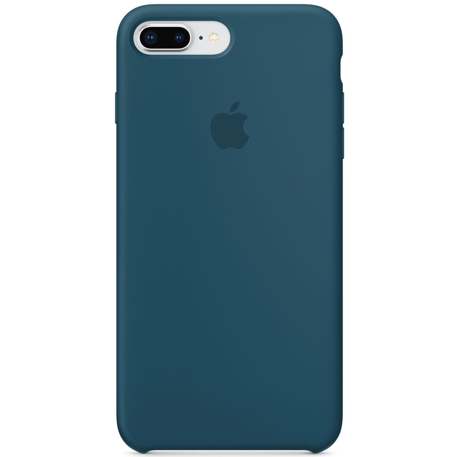 Silicone Backcover iPhone 8 Plus / 7 Plus - Cosmos Blue