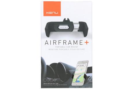 Kenu Airframe Plus Portable Car Mount Holder - Zwart