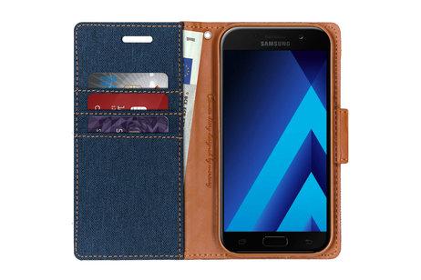 Samsung Galaxy A5 (2017) hoesje - Mercury Goospery Canvas Diary