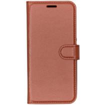 Basic Litchi Booktype Nokia 9 PureView - Bruin
