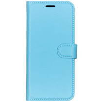 Basic Litchi Booktype Nokia 9 PureView - Blauw