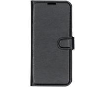 Basic Litchi Booktype Xiaomi Mi 9 - Zwart