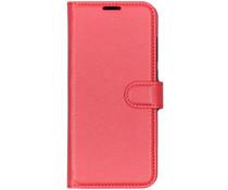 Basic Litchi Booktype Xiaomi Mi 9 - Rood