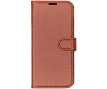 Basic Litchi Booktype Xiaomi Mi 9 - Bruin