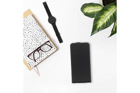 Accezz Flipcase voor BlackBerry KeyOne - Zwart