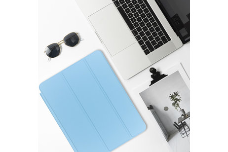Luxe Bookcase voor iPad Air 2 - Turquoise