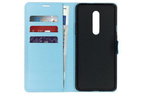 OnePlus 7 Pro hoesje - Basic Litchi Booktype voor